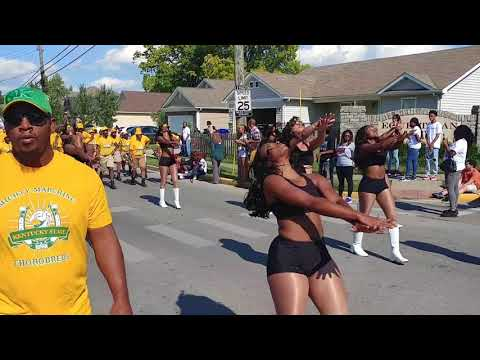 LEE G NEWS: The Mighty Kentucky State University Marching Thorobreds