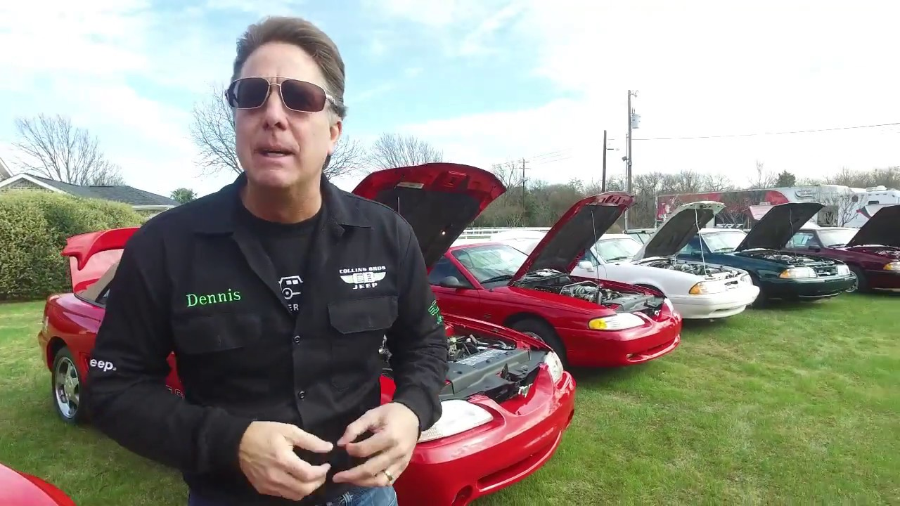 Check out the Mustangs Dennis Collins is Taking to Scottsdale for BarrettJackson  YouTube