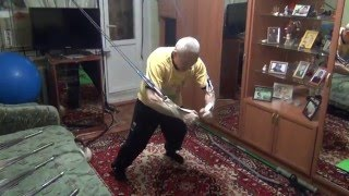 видео эспандеры бубновского для дома упражнения