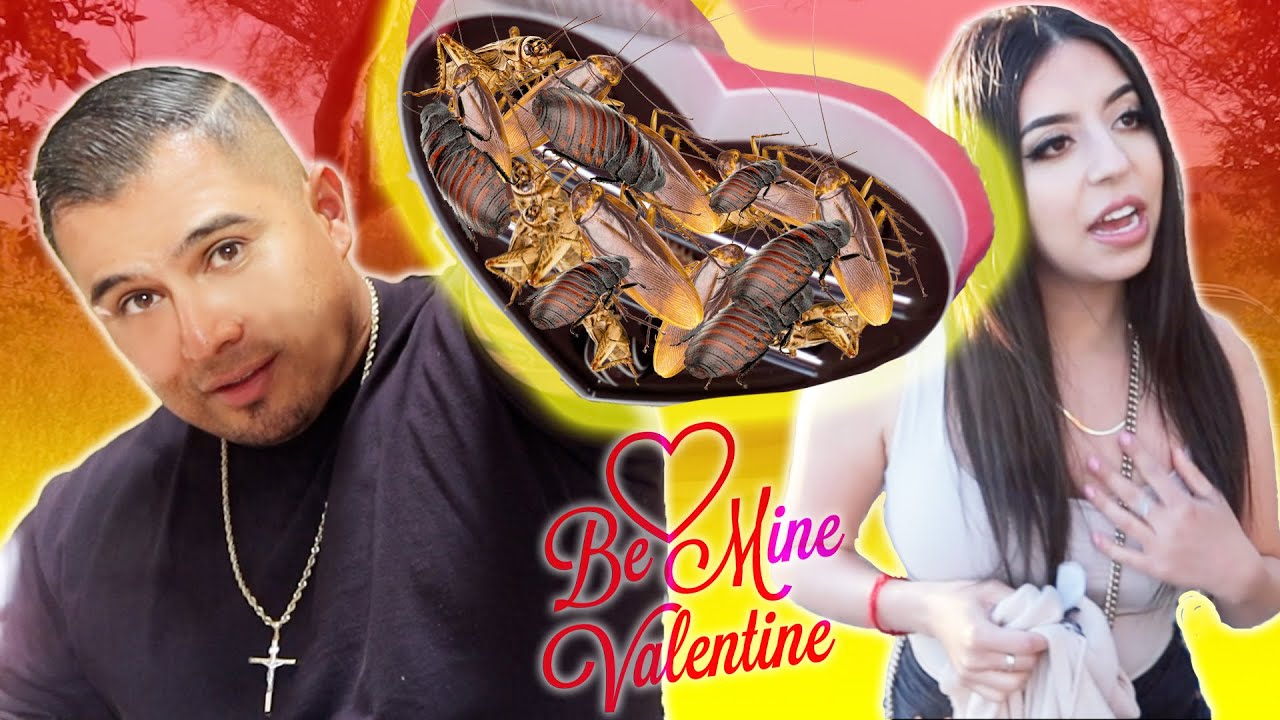 HORRIBLE VALENTINE'S DAY GIFT PRANK ON WIFE * SHE FREAKED OUT! THE CHAFAM