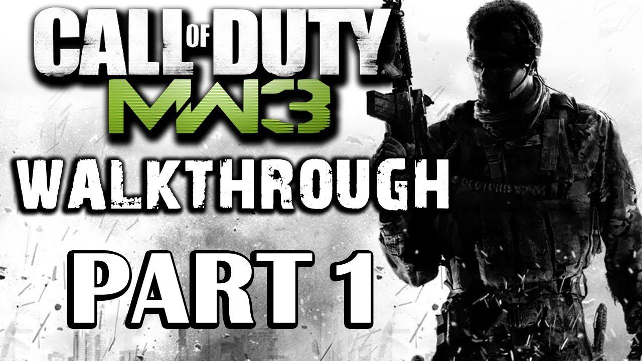 Call Of Duty Modern Warfare 3 Walkthrough Part 1 Black Tuesday