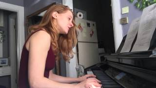 Atmosphere - Yesterday (Piano Cover by Cassandra McLean)