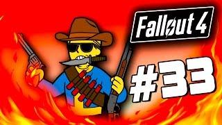Fallout 4 - КРУТЫЕ ПУШКИ - БИТВА ЗА ЗАМОК 33