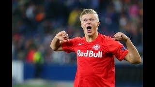 Wonderkid alert! Erling Braut Haaland's hat-trick on Champions League debut