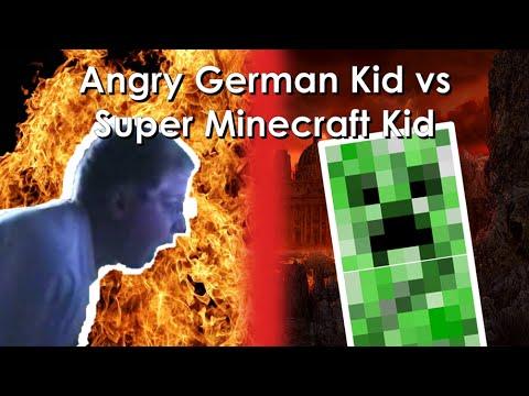 YTP - Angry German Kid vs Super Minecraft Kid