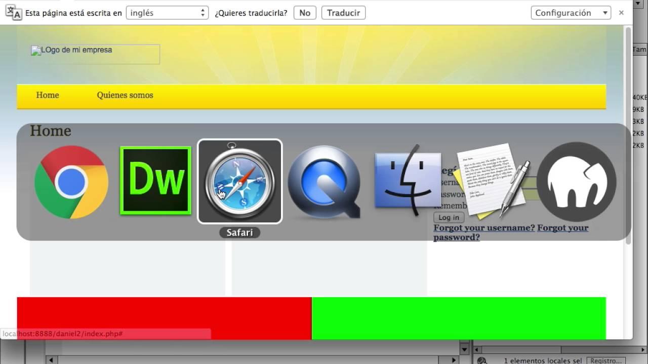 23 crear plantilla de joomla 3.0 | modificar una plantilla instalada ...
