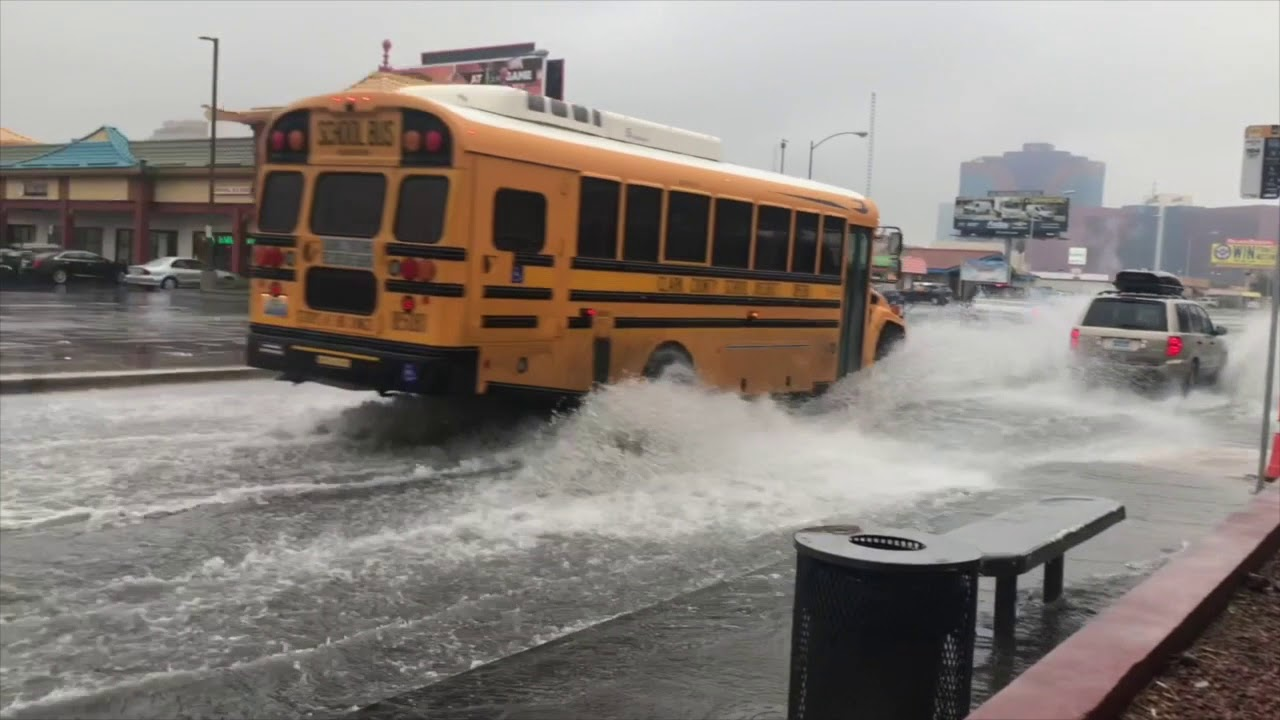 Las Vegas floods after record drought