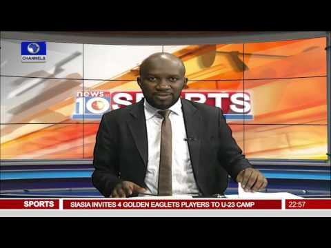 News@10: Eagles Return To Training After Draw Against Swaziland 14/11/15 Pt 4