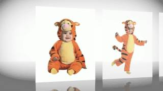 Tigger By Disney Plush Jumpsuit Costume