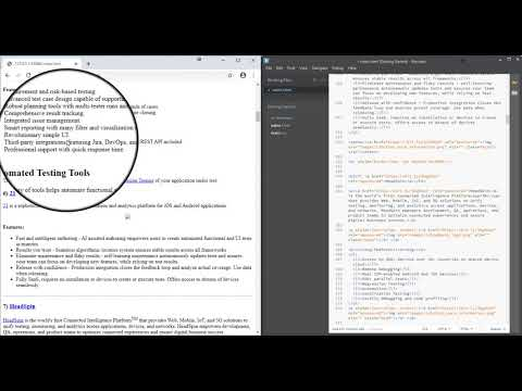 HTML Editing With Live Preview