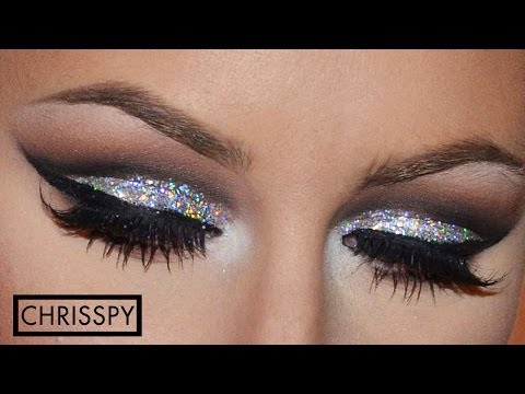 New Years Eve Silver Glitter Tutorial