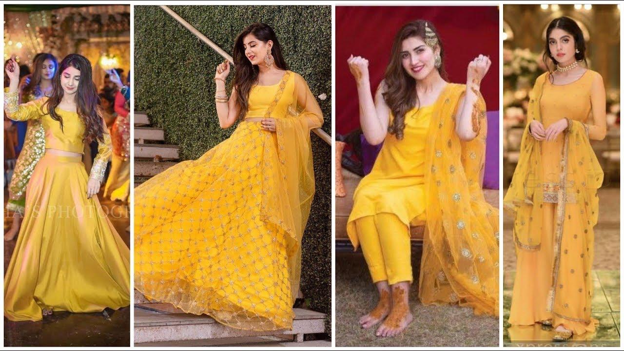 mehndi dress design 2019 for girl