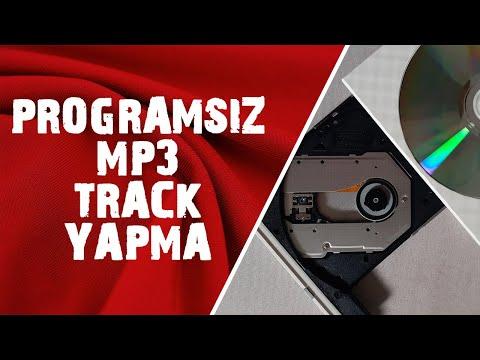 Programsız MP3'leri Track Yapma