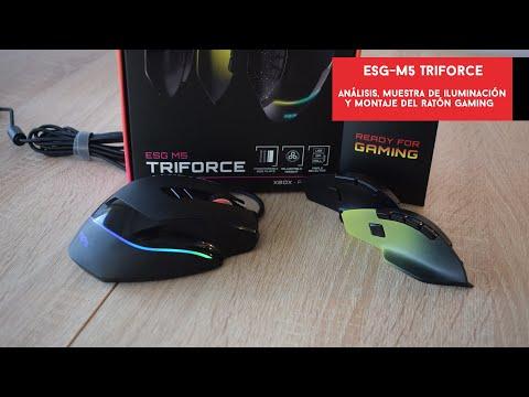 ESG-M5 Triforce. Analizamos el ratón gaming de gama de entrada de Energy Sistem   Gameit ES