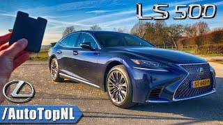 2019 LEXUS LS 500 PRESIDENT REVIEW POV Test Drive on AUTOBAHN & ROAD by AutoTopNL