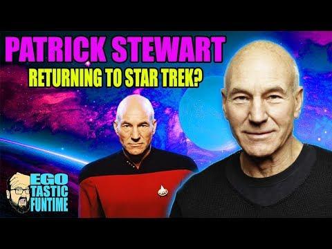 4 New STAR TREK Series In Development - Patrick Stewart Returns? | EGOTASTIC FUNTIME!