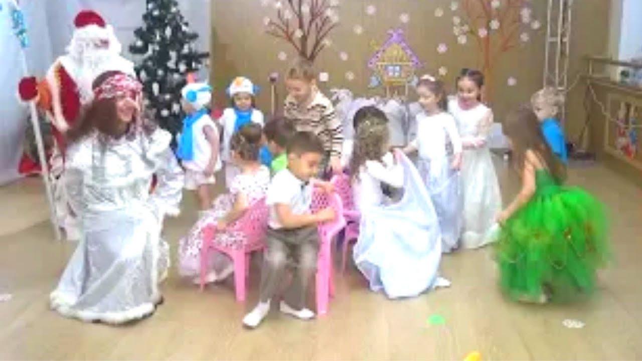 игропесенки для детей на новый год