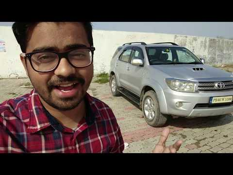 Tiago Owner Drives Fortuner For The First Time | Four By Four Explained | How To Use 4×4 Gear