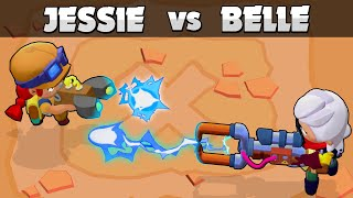 ⚡BELLE vs JESSIE ⚡ Best Electric Attack ⚡ 1vs1