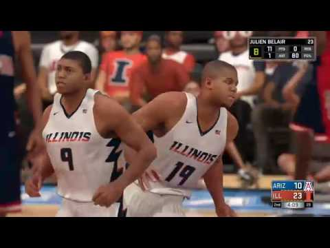 NBA 2k17 my career ep 5 college finals!!!