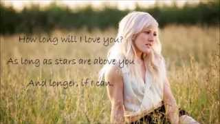 Ellie Goulding-How long will I love you Karaoke duet (sing with Ellie)