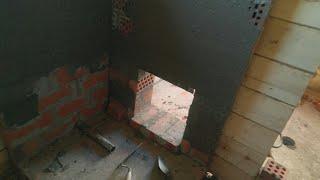 видео Правильно ли я сделал основание под металлическую печь?