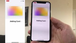GOT THE NEW APPLE CREDIT CARD!!! Video