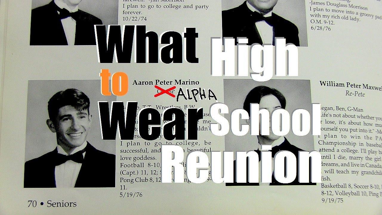 Class Reunion Dress Code