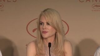 "In May, Nicole Kidman shows her support for women filmmakers at the press conference for her new drama ""The Beguiled"" in Cannes. (The Associated Press)"