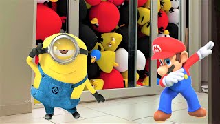 Best Of Compilation Video with Animated Minions, Mario And some Angry Birds having Fun.