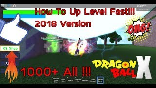Dragon Ball X Roblox. how easy level farm sector 2 [How To Level Up Fast Version 2018!!!]
