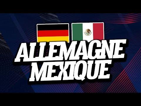 ALLEMAGNE - MEXIQUE (0-1) // Live Reaction & Commentaire - ClubHouse