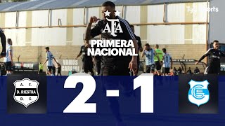 Deportivo Riestra 2 VS Gimnasia (J) 1 | Fecha 1  | Primera Nacional | 2019/2020
