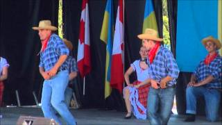 The Cowboy Western by Desna(Desna performing their «Кoвбoйcький танець» Cowboy Western dance, during the Ukraine Independence Day festivities at Centennial park, Aug.24, 2013, ..., 2013-09-01T22:00:29.000Z)