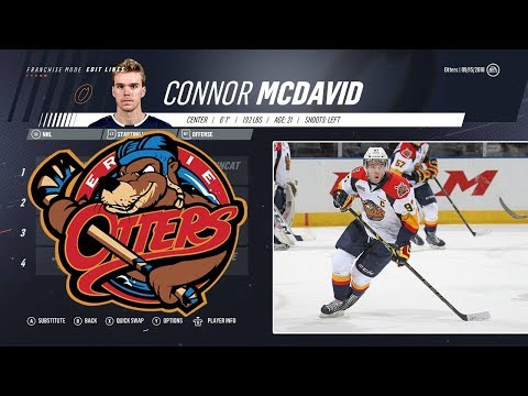 HOW GOOD IS A TEAM OF ERIE OTTERS ALUMNI? - NHL 19