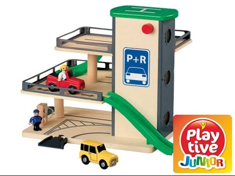 Play Tive Junior Car Park Toy Review Playtive Wooden You