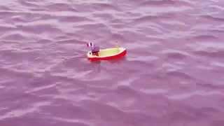 Bateau de pêche à moteur électrique à pile