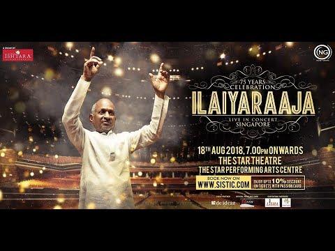 Ilaiyaraja Live in Concert - Singapore Promo