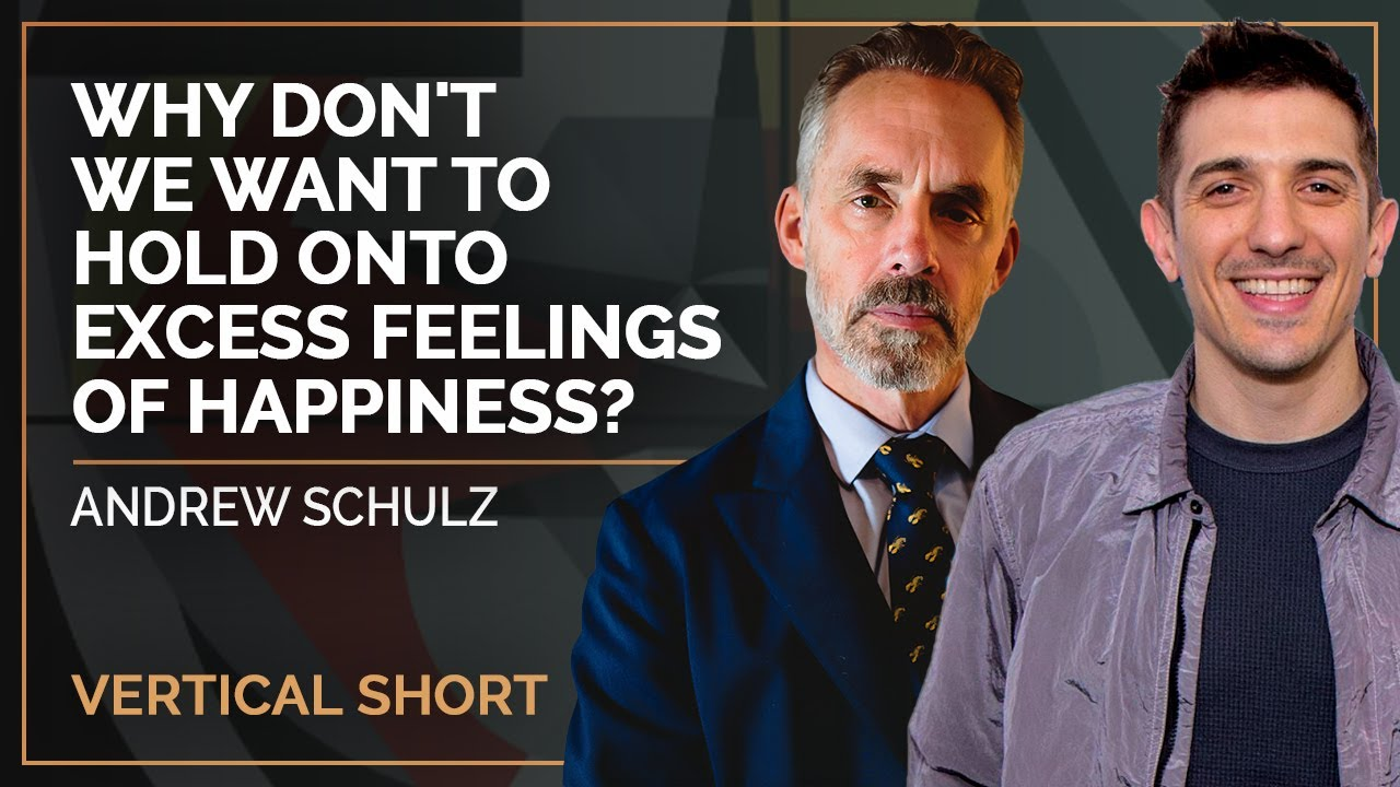 Why Don't We Want To Hold Onto Excess Feelings of Happiness? | Andrew Schulz #shorts