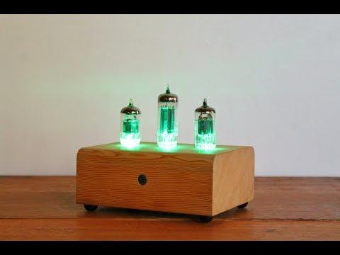 Vacuum Tube LED Lamp - Sound Reactive