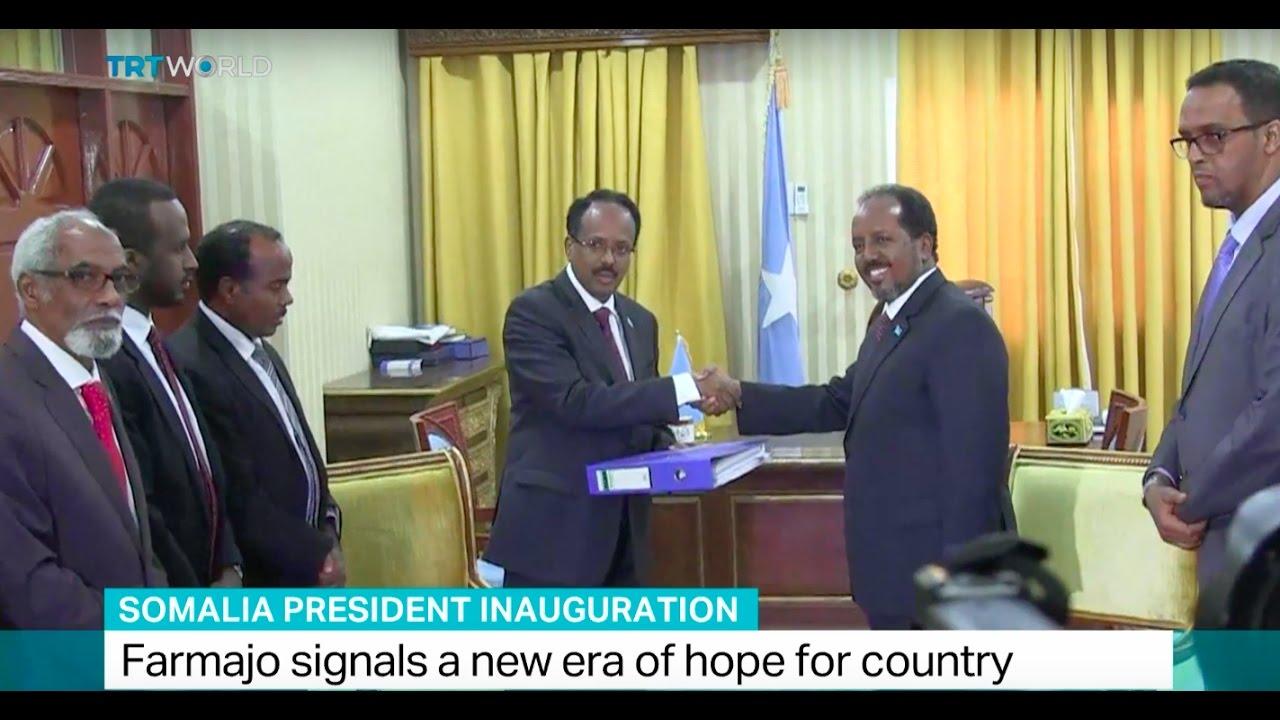 Somalia President Inauguration: Farmajo signals a new era of hope for  country