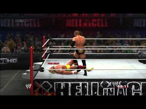 WWE 2K14: TRIPLE VS HULK HOGAN - IRON MAN...