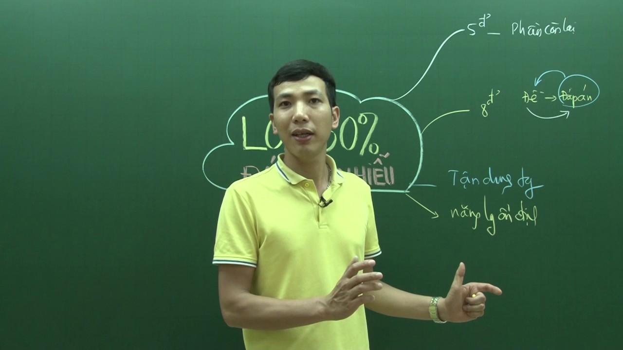 [Lê Đăng Khương] – Loại bỏ 50% đáp án nhiễu 2020