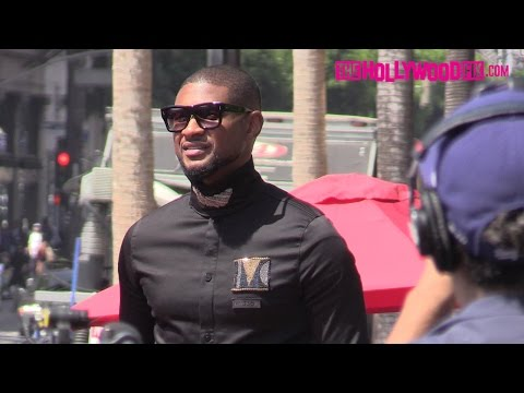 Usher Raymond Receives A Star On The Hollywood Walk Of Fame 9.7.16 - TheHollywoodFix.com