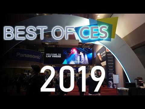 The Best of CES 2019 - 8k TVs, 4k Projectors, Micro LED, and ROBOTS!