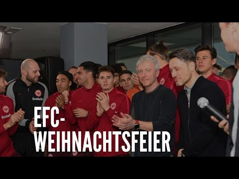 Eintracht Frankfurt Weihnachtsfeier.Efc Weihnachtsfeier Rauschendes Eintracht Fest Youtube