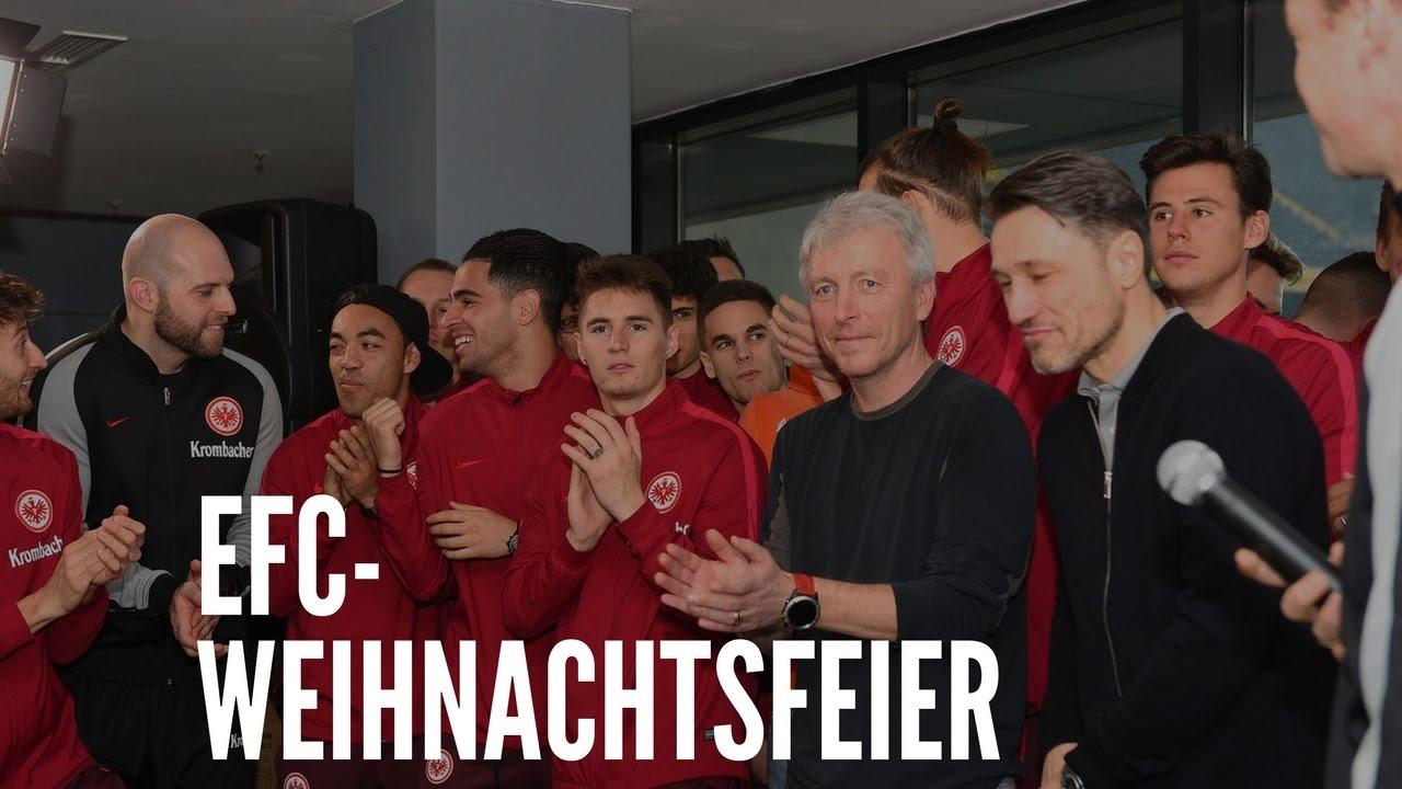 Eintracht Frankfurt Weihnachtsfeier.Efc Weihnachtsfeier Rauschendes Eintracht Fest