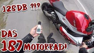 Das lauteste Motorrad! Geisteskrank | Driftzember