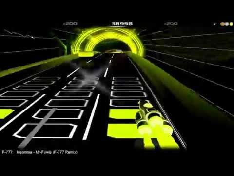 Mr-Fijiwiji - Insomnia (F-777 Remix) | Audiosurf [#55]