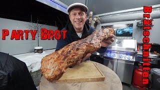 Party-Brot / Brätschnitten / Brätbrötchen